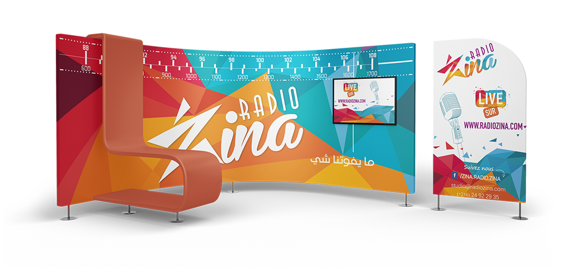 Stand Zina Radio Station